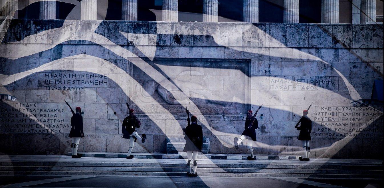 25η Μαρτίου: Με ελληνικές σημαίες στα μπαλκόνια οι πολίτες - Μήνυμα από «Ζευς»