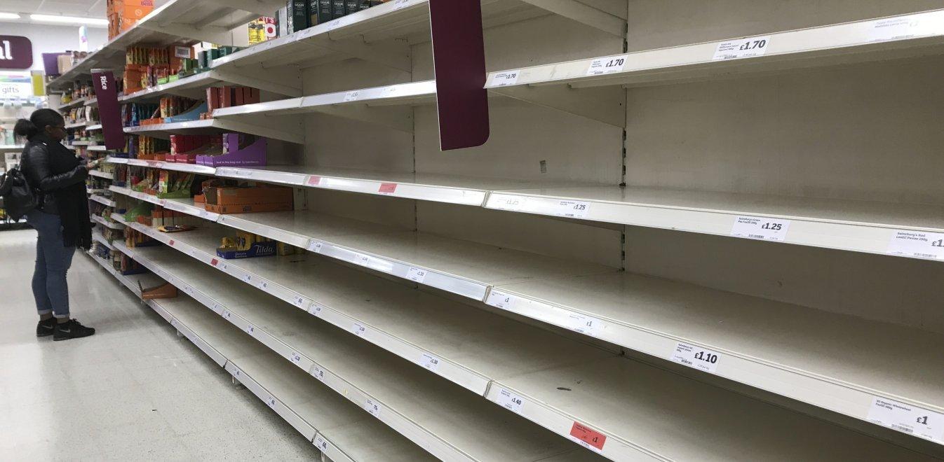Κορονοϊός - Βρετανία: Έκκληση των σούπερ μάρκετ - Σταματήστε τις αγορές λόγω πανικού