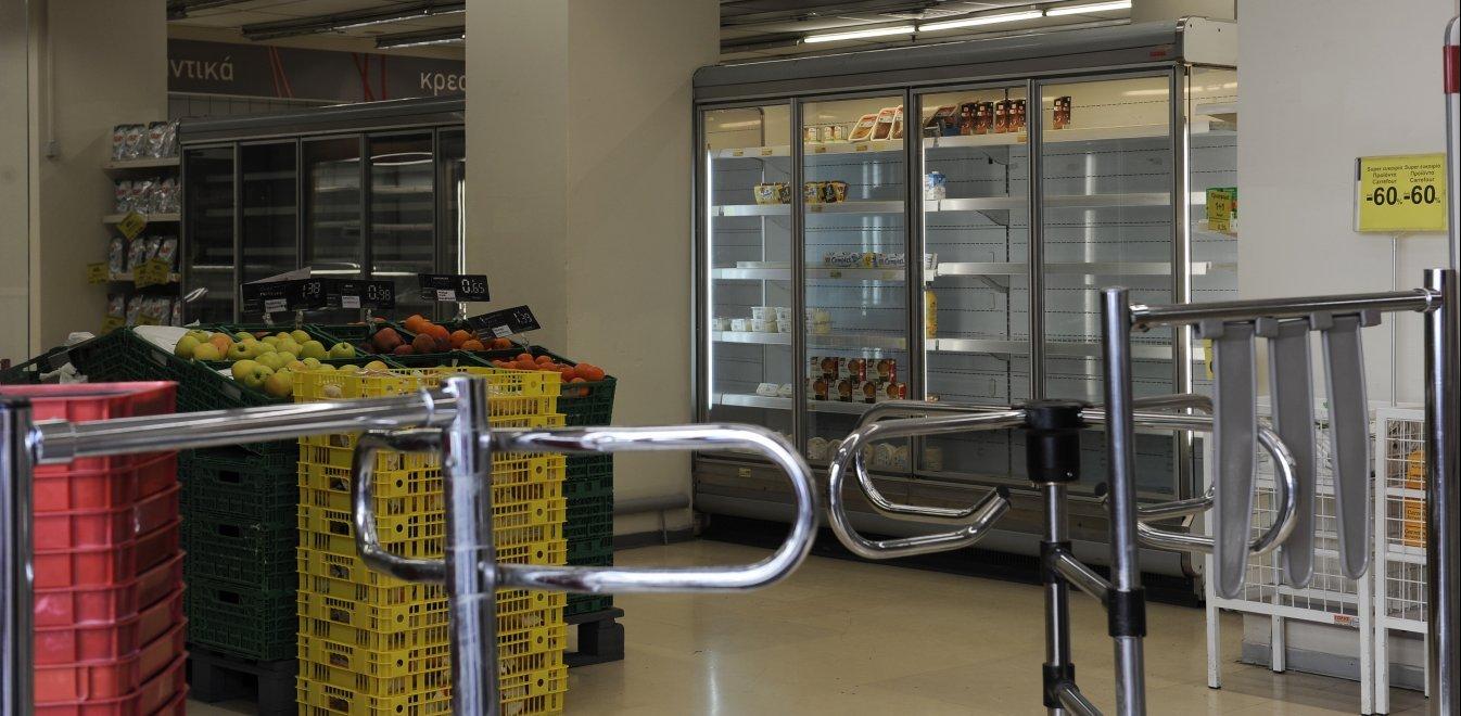 Κορονοϊός: Από Δευτέρα θα υπάρχει έλεγχος εισόδου στα σούπερ μάρκετ