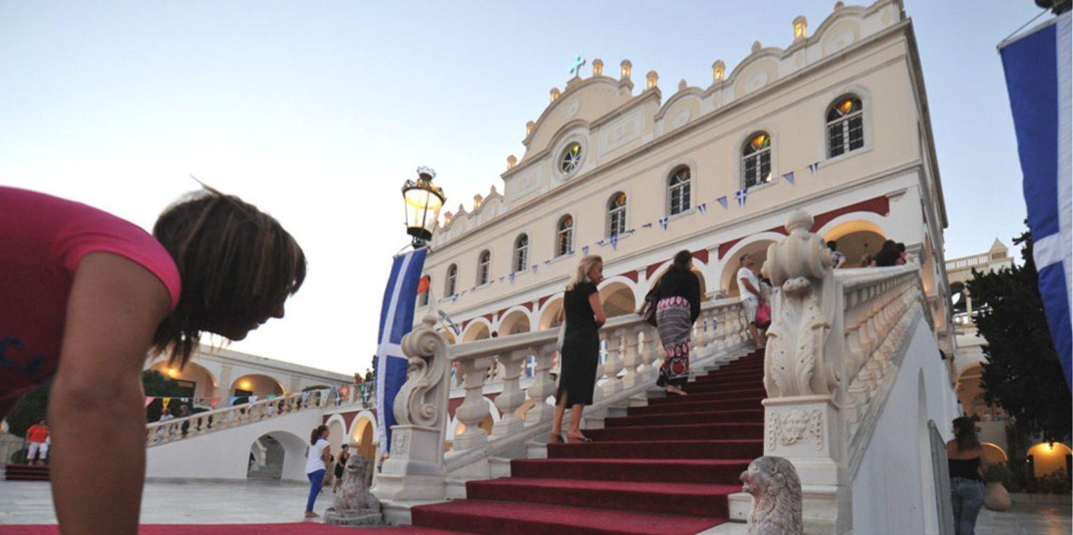 Στη Μεγαλόχαρη της Τήνου ο πρωθυπουργός - Ελλάδα - Νέα Κρήτη