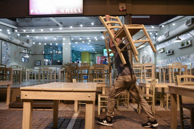 Εστίαση: Βουτιά 20% στον τζίρο με το κλείσιμο τα μεσάνυχτα σύμφωνα με το Επαγγελματικό Επιμελητήριο Αθηνών